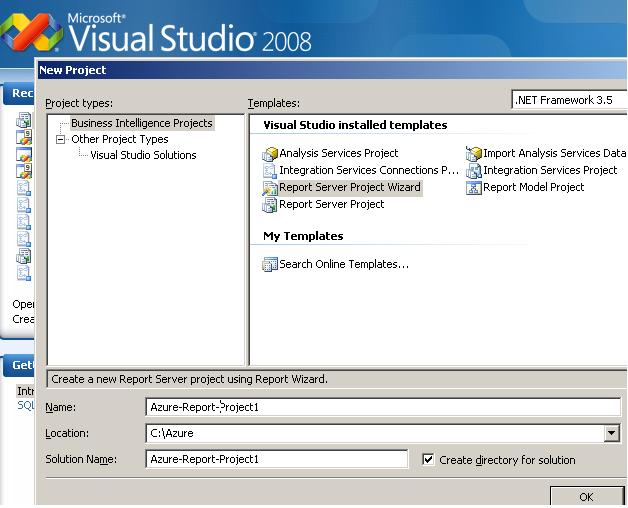 Azure-with-Visual-Studio