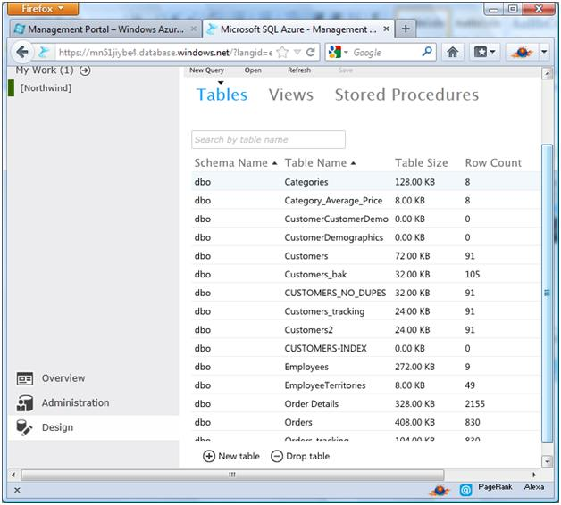 sql-azure-tables-design